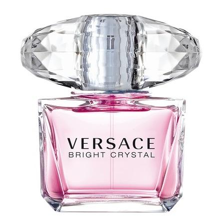 Versace Bright Crystal Perfume For Women 90ml Eau de Toilette + Versace Dylan Blue Perfume For Men 100ml Eau de Toilette