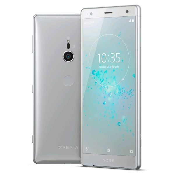 Sony Xperia XZ2 64GB Liquid Silver 4G LTE Dual Sim Smartphone + Launch Pack