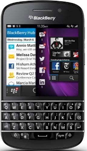 Buy BlackBerry Q10 Smartphone Black – Price, Specifications