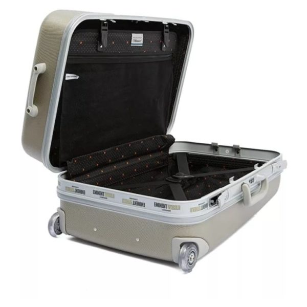 Eminent ABS Trolley Luggage Bag Light Silver 25inch E8M6-25_SLVLH