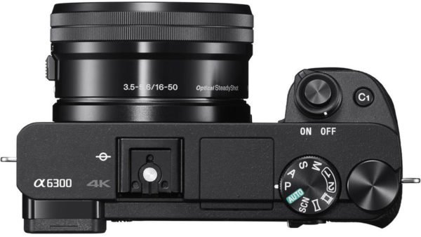 Sony ILCE6300LKIT1RCL A6300 Mirrorless 4K Camera + 16-50mm Lens