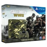Sony PS4 Slim Gaming Console 1TB Camouflage With Call Of Duty WWII Limited Edition Game
