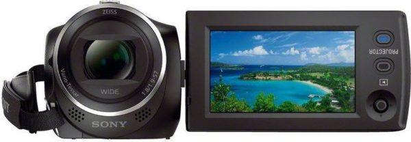 Sony HDRPJ410 Full HD Handycam Camcorder W/ Built In Projector Black