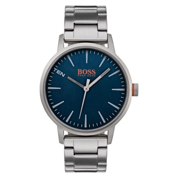 Hugo Boss Copenhagen Watch For Men with Silver Metal Bracelet