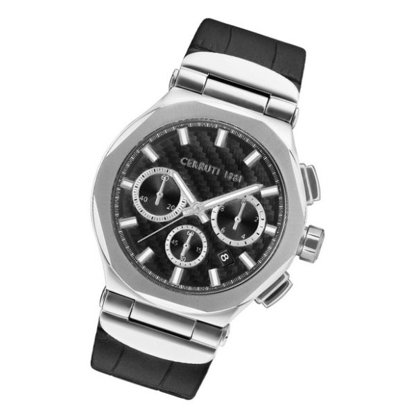 Cerruti 1881 CRWA180SN02BK Lariano Chrono Mens Watch