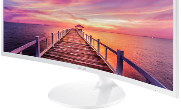 Samsung LC32F391FW Curved Vertical Alignment LED Monitor 32inch