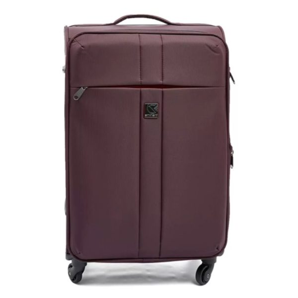 Eminent Soft Trolley Luggage Bag Purple 24inch - V610124PPL