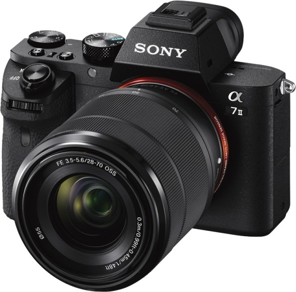 Sony ILCE7M2K Mirrorless Digital Camera With FE 28-70mm F/3.5-5.6 OSS Zoom Lens