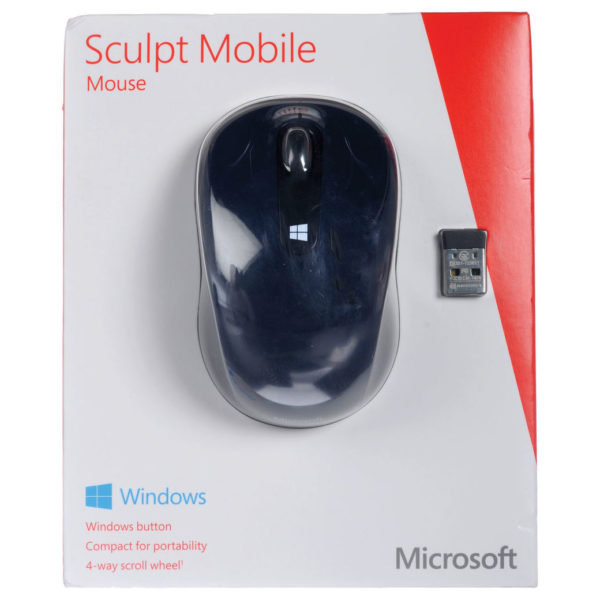 Microsoft 43U00014 Sculpt Mobile Mouse Win7/8 Wool Blue