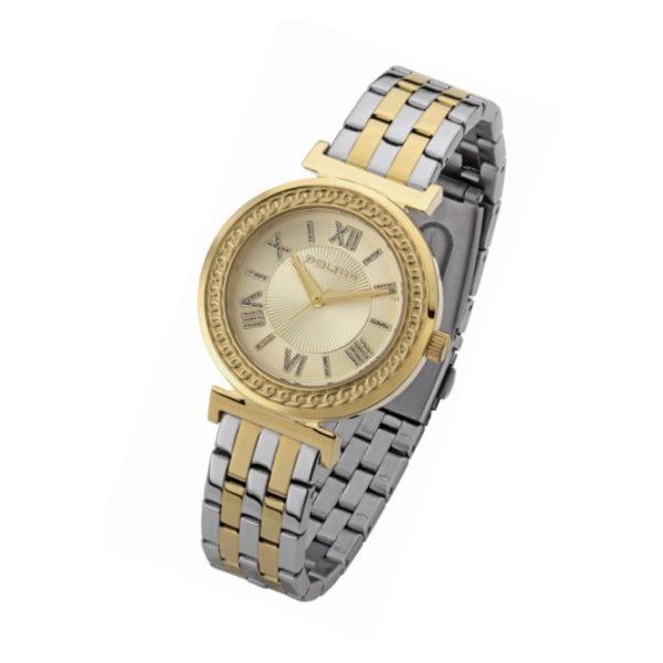 Police P 14880MSG-D06MT Sterling Ladies Watch