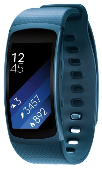 Samsung Gear Fit2 Fitness Band Large Blue SM-R3600ZBAXSG