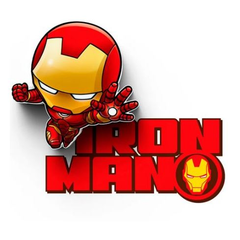 Lightfx Marvel Iron Man Decor Wall Light 2001912