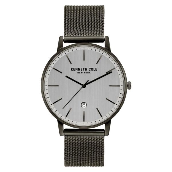 Kenneth Cole Classic Watch For Men with Gun Stainless Steel Bracelet