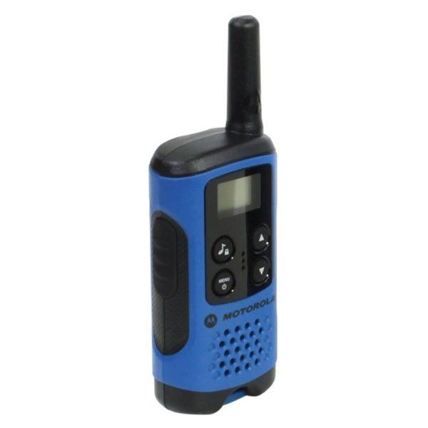 Motorola TLKRT41 P14MAA03A1BH Walkie Talkie Blue Twin Pack