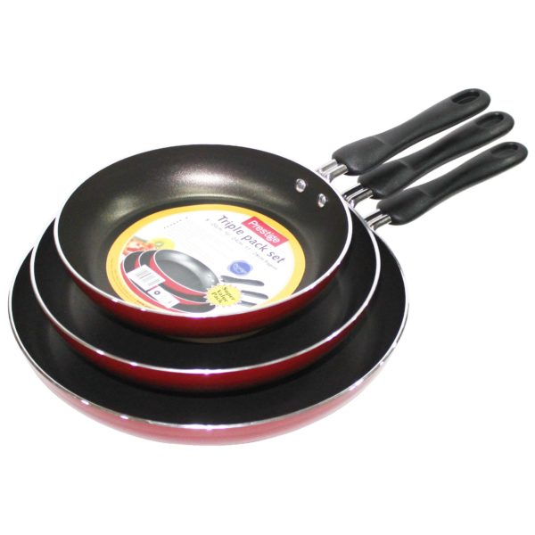 Buy Prestige Fry Cooking Pan Set 3pc Price