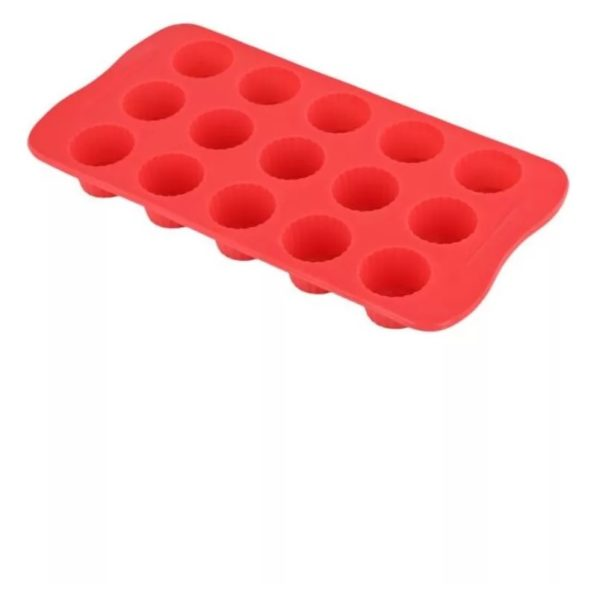 Penguen Silicone Round Chocolate Mould RED PGN1722