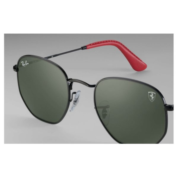 Ray-Ban Ferrari Hexagon Unisex Sunglasses - RB3548NMF009/31