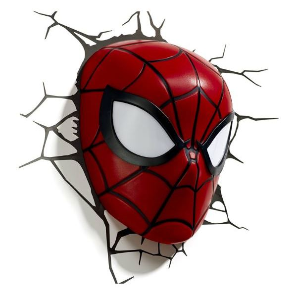 3DLightFX Spiderman Lil 3D Decor Wall Light 20024
