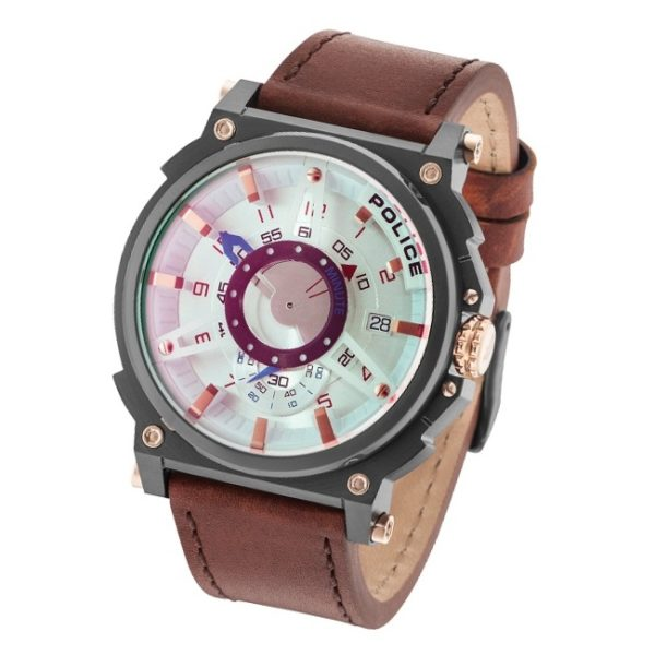 Police P 15048JSU-04 Compass Mens Watch