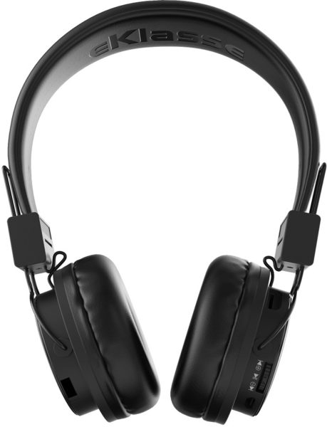 Eklasse EKBTHP02 Bluetooth Headphone Black W/ Mic
