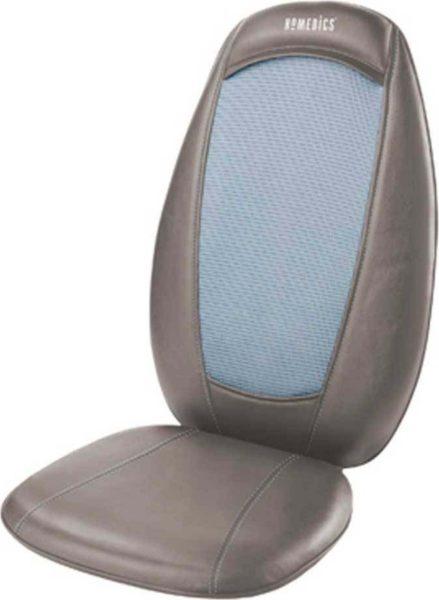 Homedics Shiatsu Back Massager Chair Pad W/ Heat SBM215HGB