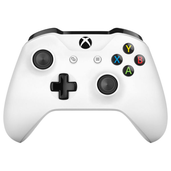 Microsoft Xbox One S 1TB Gaming Console White + 3 Months Game Pass + 3 Months Xbox Live