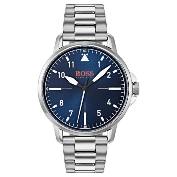 Hugo Boss Chico Watch For Men with Silver Metal Bracelet