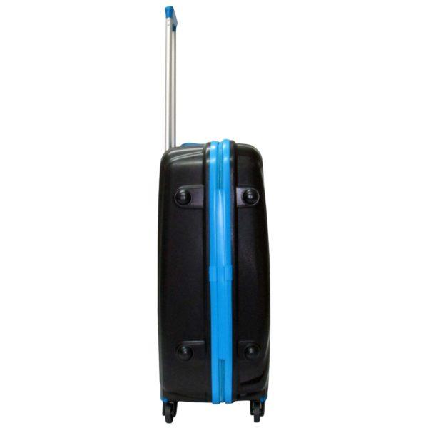 Highflyer THKELVIN3PC Kelvin Trolley Luggage Bag Black/Blue 3pc Set