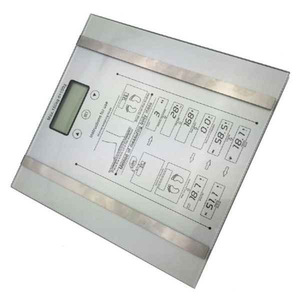 Eklasse Body Fat Scale With Tempered Glass Platform - EKBS01CX