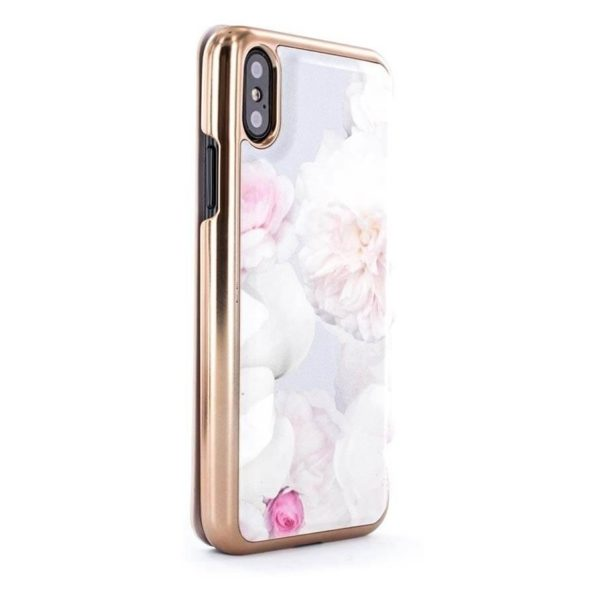official photos 43383 d1549 Buy Proporta Ted Baker Mirror Folio Case Chelsea Grey For iPhone X ...