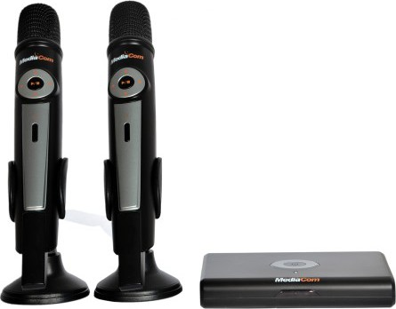 Mediacom MCI6200TW Premium Dual Wireless Karaoke