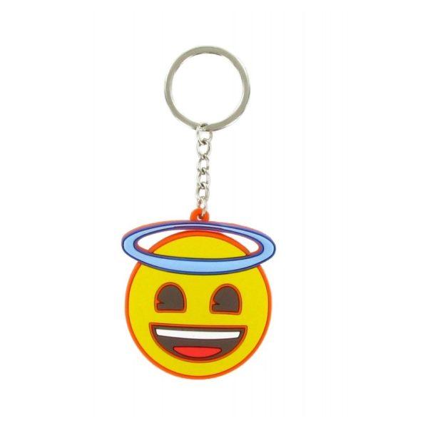 Comansi Emoji Angel Face Keychain E10005