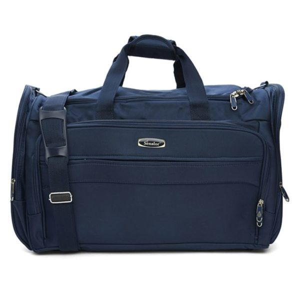Senator 2003D24BLU Fancy Duffel Bag Blue 24inch