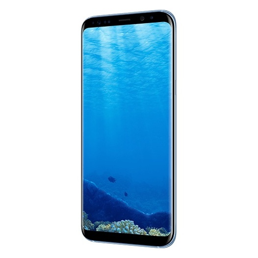 Samsung Galaxy S8+ 4G Dual Sim Smartphone 64GB Coral Blue ( *T&C Apply )