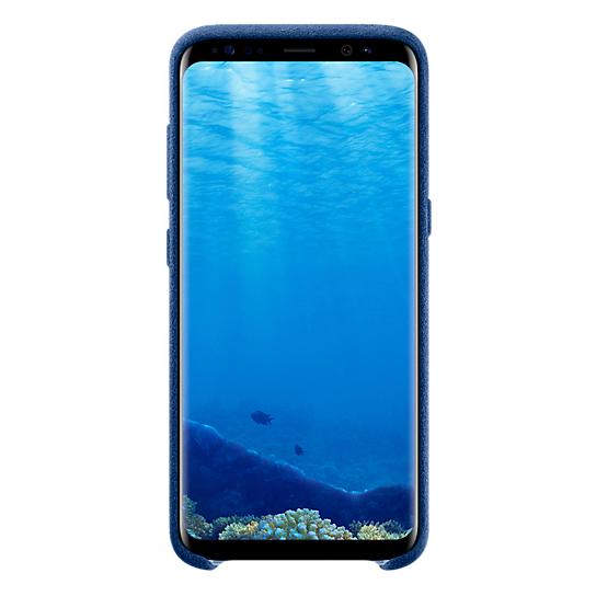 Samsung Alcantara Case Blue For Galaxy S8 EF-XG950ALEGWW