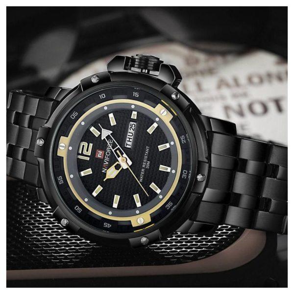 Naviforce Unisex Watch Yellow NF9073