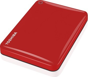Toshiba HDTC830ER3CA Canvio Connect II Hard Drive 3TB Red