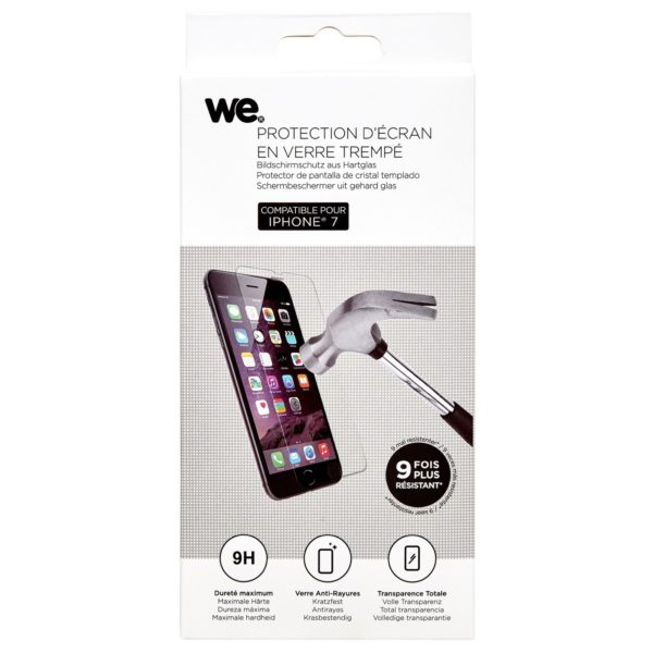 Buy We Tempered Glass Screen Protector For iPhone 7 – Price