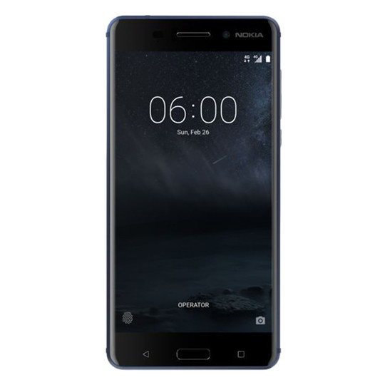 Nokia 6 4G Dual Sim Smartphone 32GB Tempered Blue
