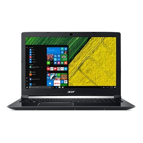 Acer Aspire 7 Laptop - Core i7 2.8GHz 12GB 1TB 4GB Win10 15.6inch FHD Black