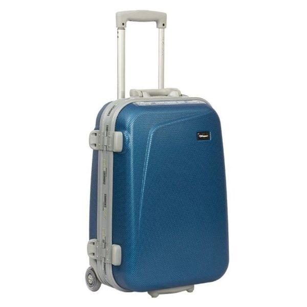 Eminent ABS Trolley Luggage Bag Blue 25inch E8M6-25_BLU