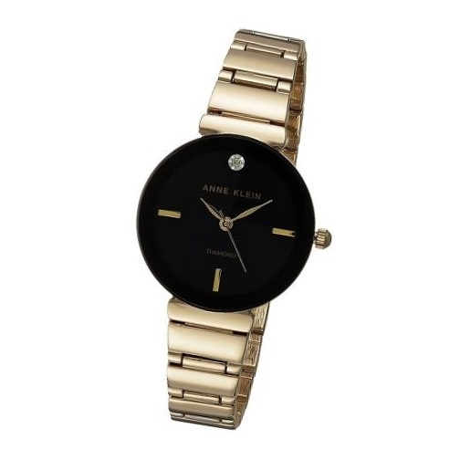 Anne Klein AK2434BKGB Ladies Watch