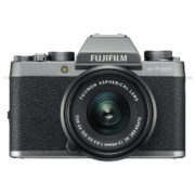 Fujifilm X-T100 Mirrorless Digital Camera Dark Silver With XC 15-45mm f/3.5-5.6 OIS PZ Lens