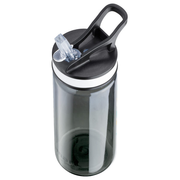 Lamart Straw Sport Bottle 650ml Black LT4033