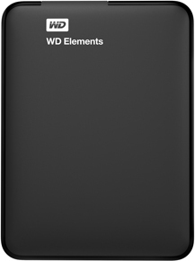 Western Digital WDBU6Y0020BBK Elements Portable Hard Drive Black 2TB