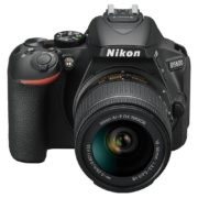 Nikon D5600 Digital SLR Camera With AF-P DX 18-55mm VR Lens