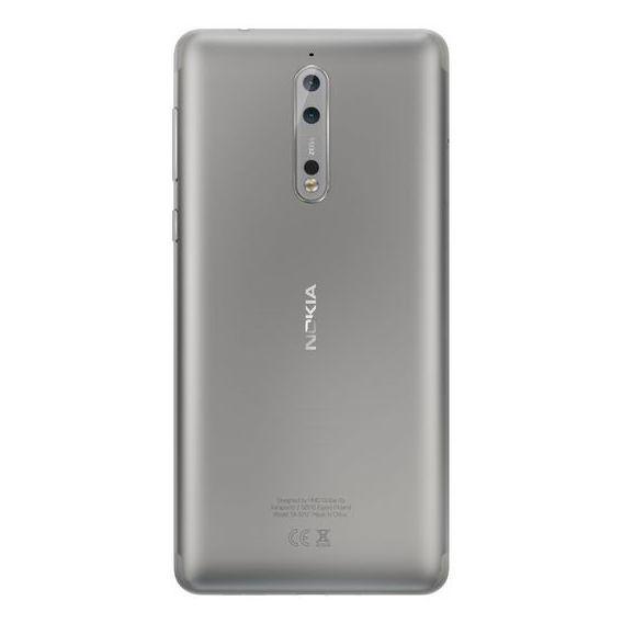 Nokia 8 TA1004 4G Dual Sim Smartphone 64GB Steel