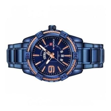Naviforce Mens Watch Blue NF9117N