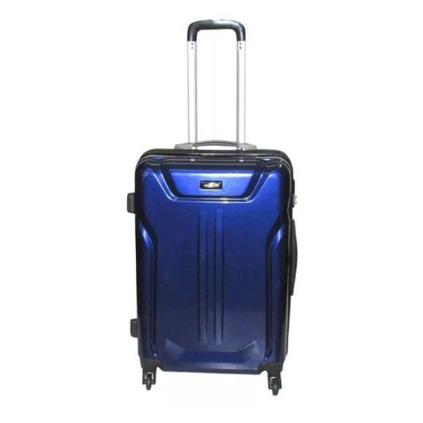 Highflyer Terminator Trolley Luggage Bag Blue 3pc Set TH1609PPC3PC