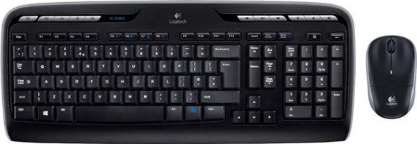 426ef87d83c Buy Logitech 920003983 MK330 Wireless Desktop Keyboard & Mouse Black ...